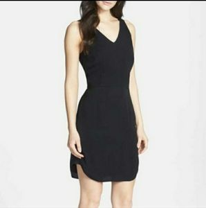 CHELSEA28 Open Back Little Black Dress Small